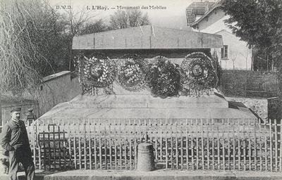 Le cénotaphe de 1870