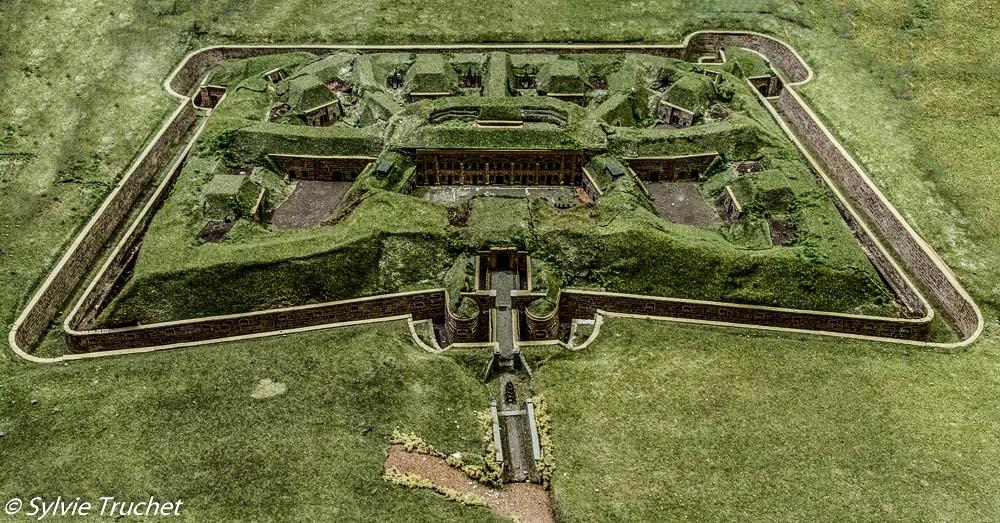 La maquette du fort de Sucy-en-Brie